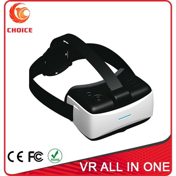 5.5 Inch AMOLED Screen All In One VR Headset Support 128G TF Card
