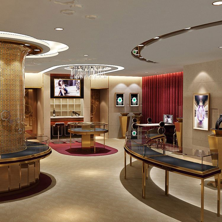 Jewelry Showroom Interior Design Jewelry Showroom Interior Design