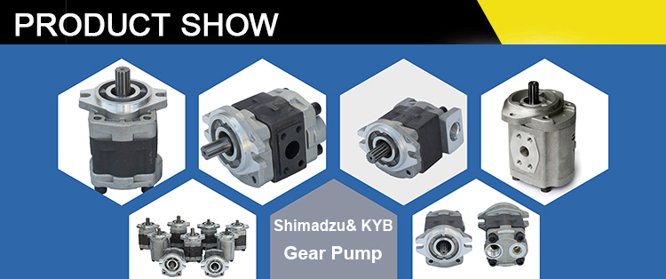 High Quality Original Shimadzu Kayaba KZP4 KRP4 KFZ4 Crane Hydraulic Pump Gear Pump For Forklift
