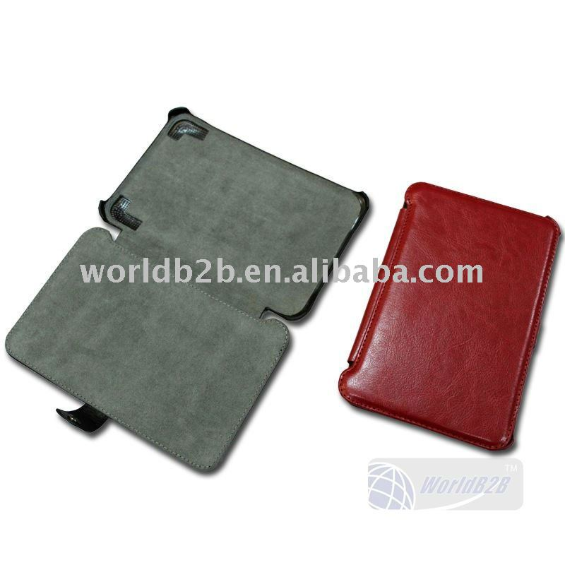 Leather hard Case Cover for Amazin Kindle 3 , high quality