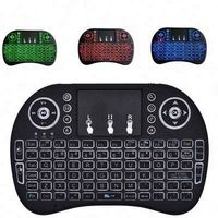 Hot Selling I8 Backlight Keyboard Backlit Air Mouse 2.4G Wifi Mini Wireless Keyboard