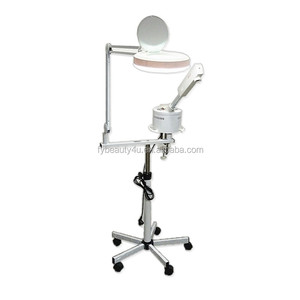 Salon Use 707 Facial Steamer with Magnifying Lamp Glass