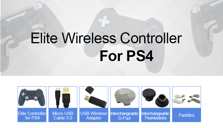 Game Controller Joystick For Ps4 Accessories OEM Elite Controller
