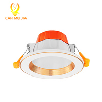 2018 CE RoHS commercial light round recessed led downlight panel light celling ligt