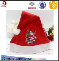 Christmas hats,cheapest wholesale musical dancing colorful christmas hats
