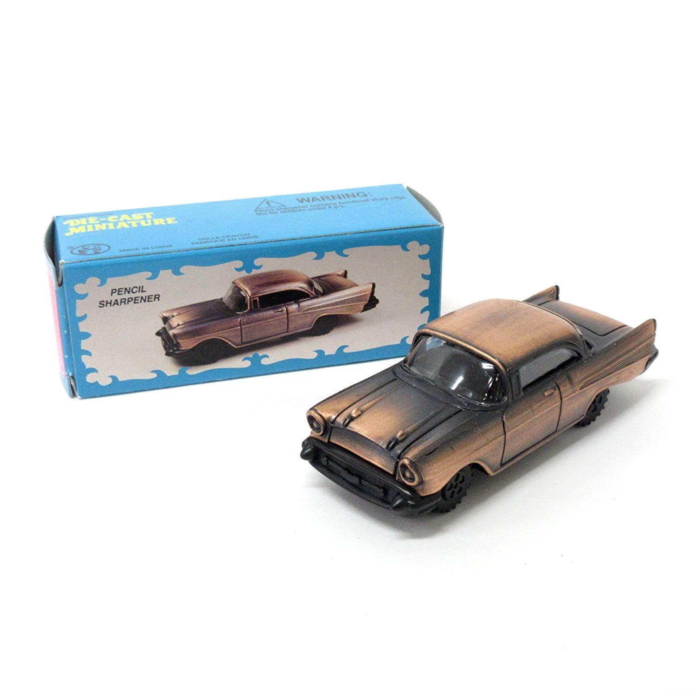 Antique Miniature GT Car Die Cast Collectible Pencil Sharpener