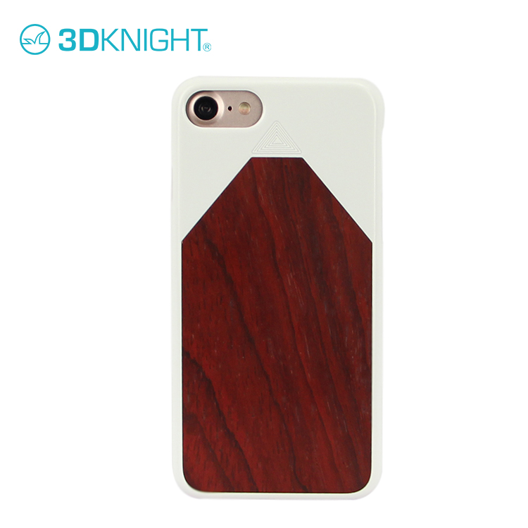 Rosewood mobile phone cases for iphone 8 bumper case wood natural