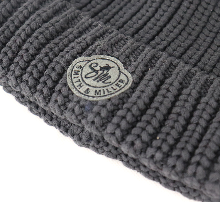 oem promotional new winter warm knitted cap  hat with custom logo