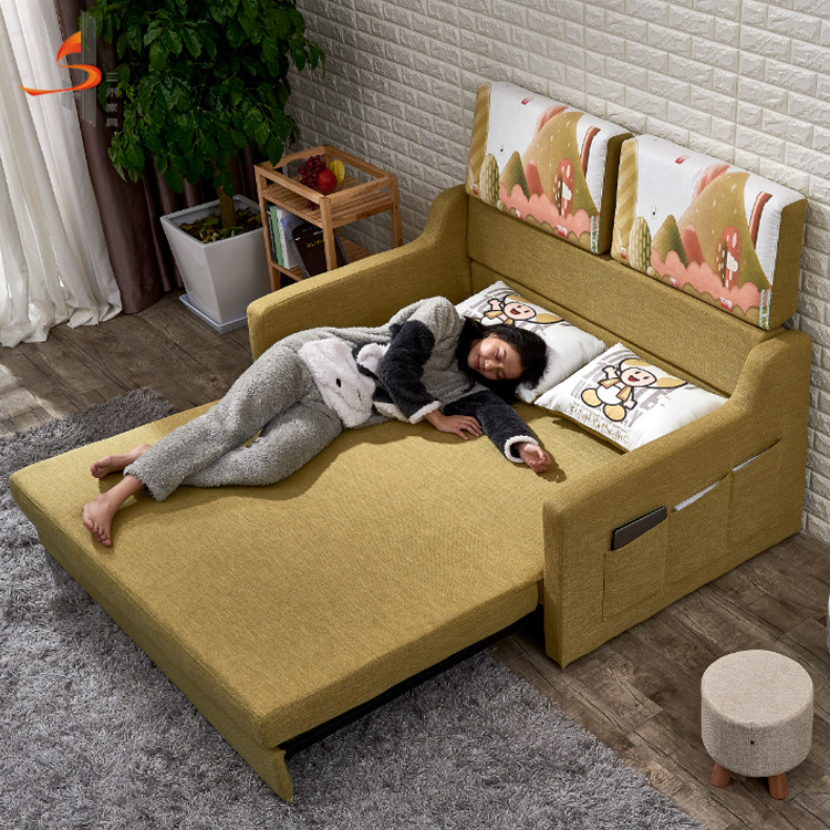 OEM Canada modern design chair sofa cum bed for hotel living room