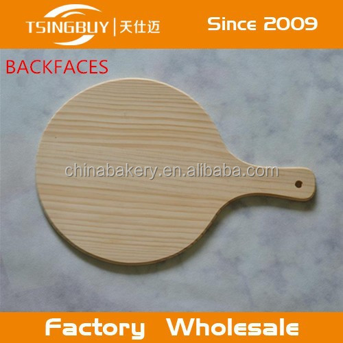 Hot sale high quality 100% natural non stick small pizza wooden peel or wooden pizza peels