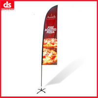 Christmas garden flag stand large banner