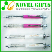 Promotion Custom Syringe Shape Metal Ballpoint Pen