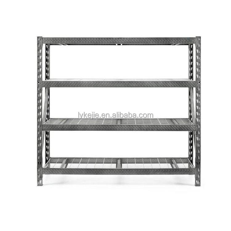Maison en acier en m tal cadre rack magasin affichage for Rack pour garage