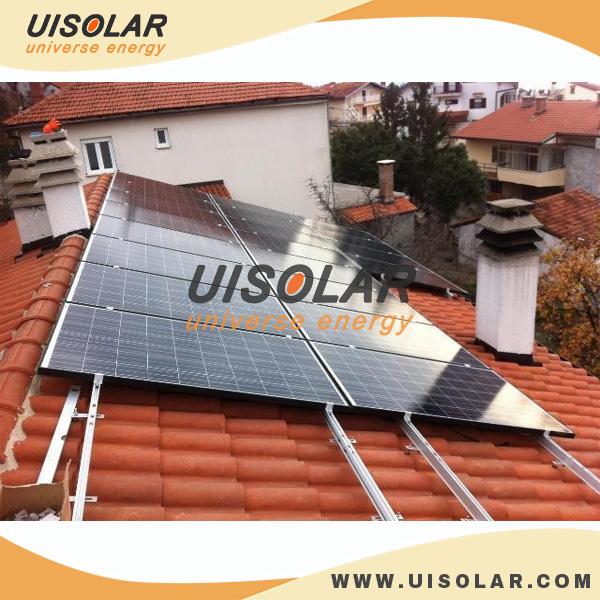 10kw Solar Panel System , Solar Panel Roof Mounting Brackets , Solar  Mounting Hook