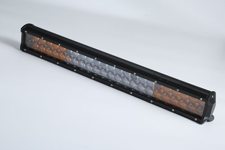Super bright 144w 57cm Auto Led Light Bar Strip tractor car Led Lamp Bar amber white Light Bars