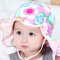 2016 Toddler Infant Sun Cap Summer Outdoor Baby Girl Hats Sun Beach Bucket Hat LD789