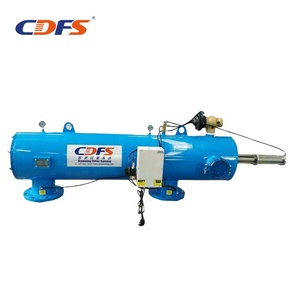 Hydraulic automatic backwash filter for water pump system