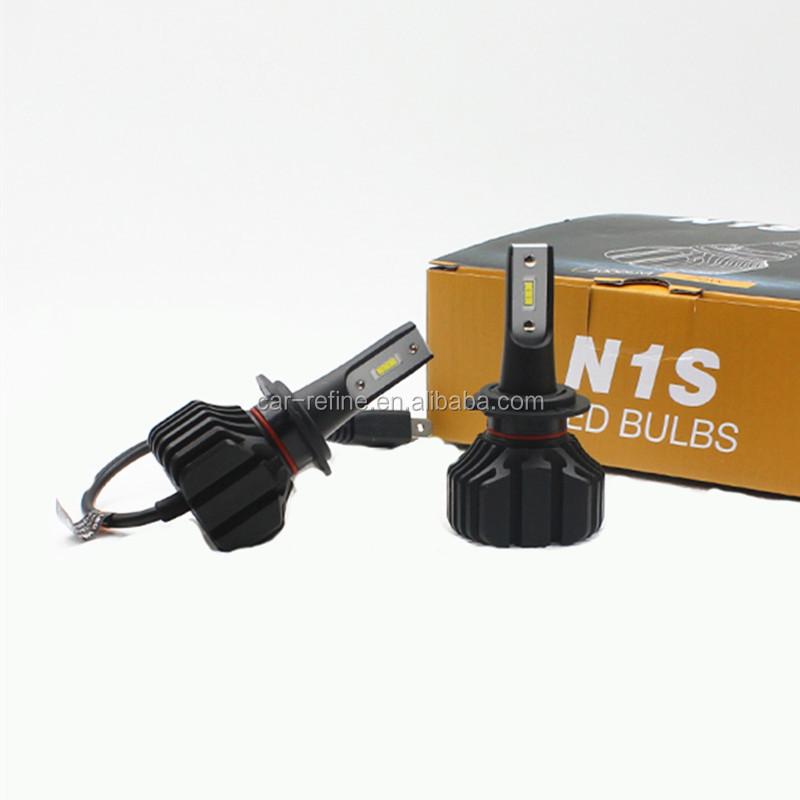 N1s Led Car Headlight Bulbs H7 H8 H9 H11 H4 Hb3 Hb4 9005 9006 6000k 8000lm  Auto Led Bulb Headlights - Buy H7 H1 H3 H4 H11 9005 9006 Led Car Headlight