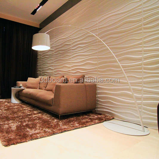 Green material decorative 3d wall panel mold 3d wall covering panel