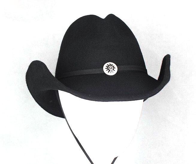 Atacado 100% feltro de lã chapéu bonito mexicano chapéus de vaqueiro ... 733b8db6e3f