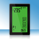 Touch screen programmable termostat for floor heating