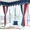 Polyester blackout curtain fabric for Window