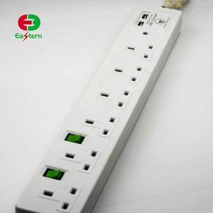 GCC PASSED Hot sale high quality low price germany power strip
