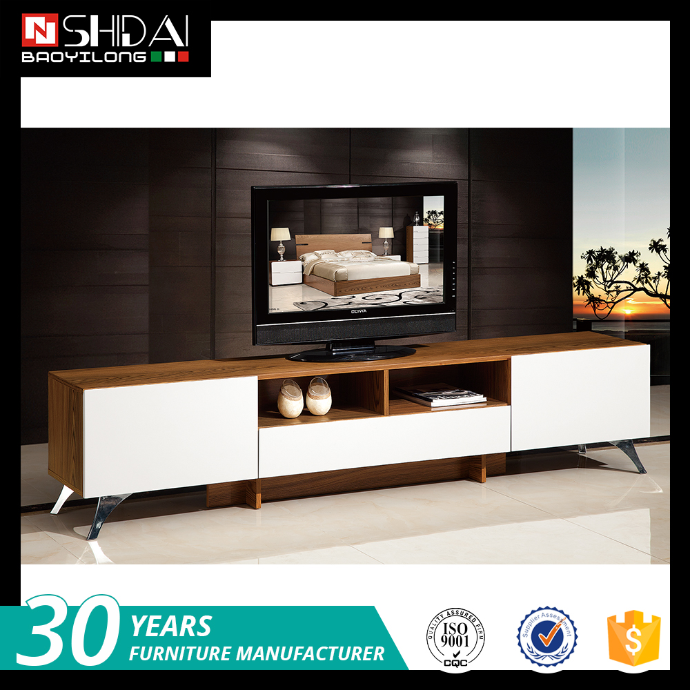Simple Tv Stand Wood Tv Cabinet High Gloss White Tv Stand
