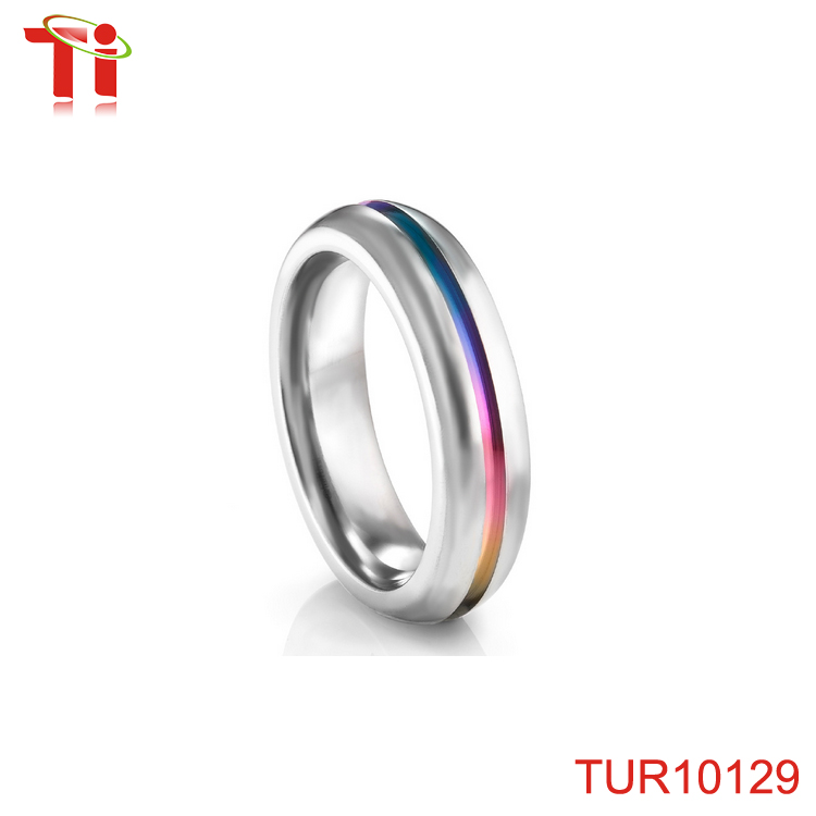 tungsten carbide ring rainbow wedding rings tungsten carbide ring rainbow wedding rings suppliers and manufacturers at alibabacom - Rainbow Wedding Rings
