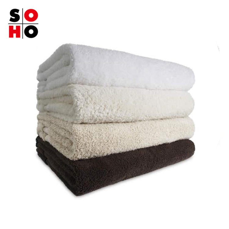 wholesale cheap luxury 5 star hotel bath towels custom plain white 100 cotton towel