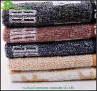 100% cotton black white diamond argyle hang face towel face washer towels