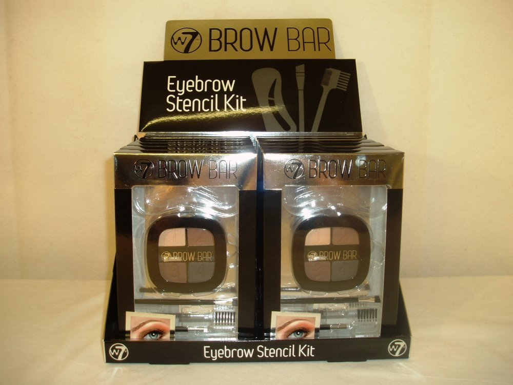 W7 Brow Bar Eyebrow Stencil Kit (12pcs)