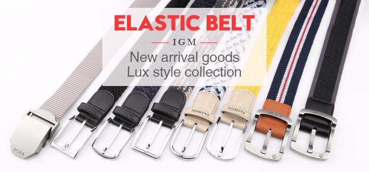 Polypropylene Fabric Woven Braided Belt For Men