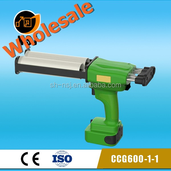 Double component 600ml Caulking gun electric silicon gun