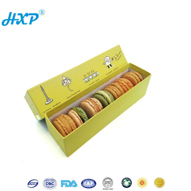 Cardboard box 3-Layer B-Flute wholesale custom cardboard paper macaroon box
