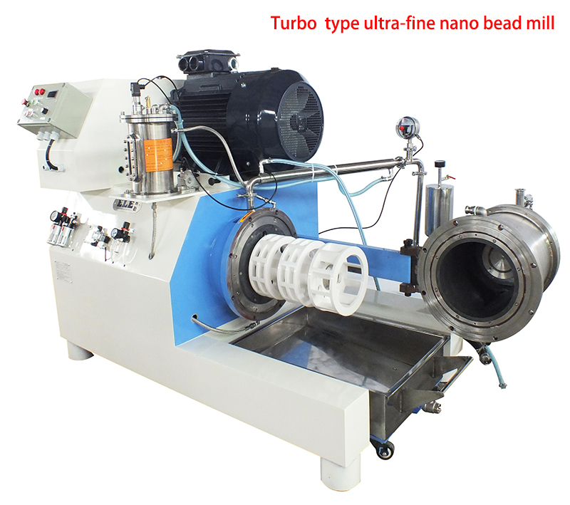 ELE horizontal bead mill/sand mill for mixing and grinding