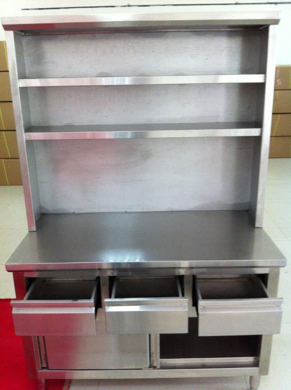 Stainless Steel Peralatan Dapur Untuk Restoran Dengan Harga Terbaik Kabinet Laci Rak