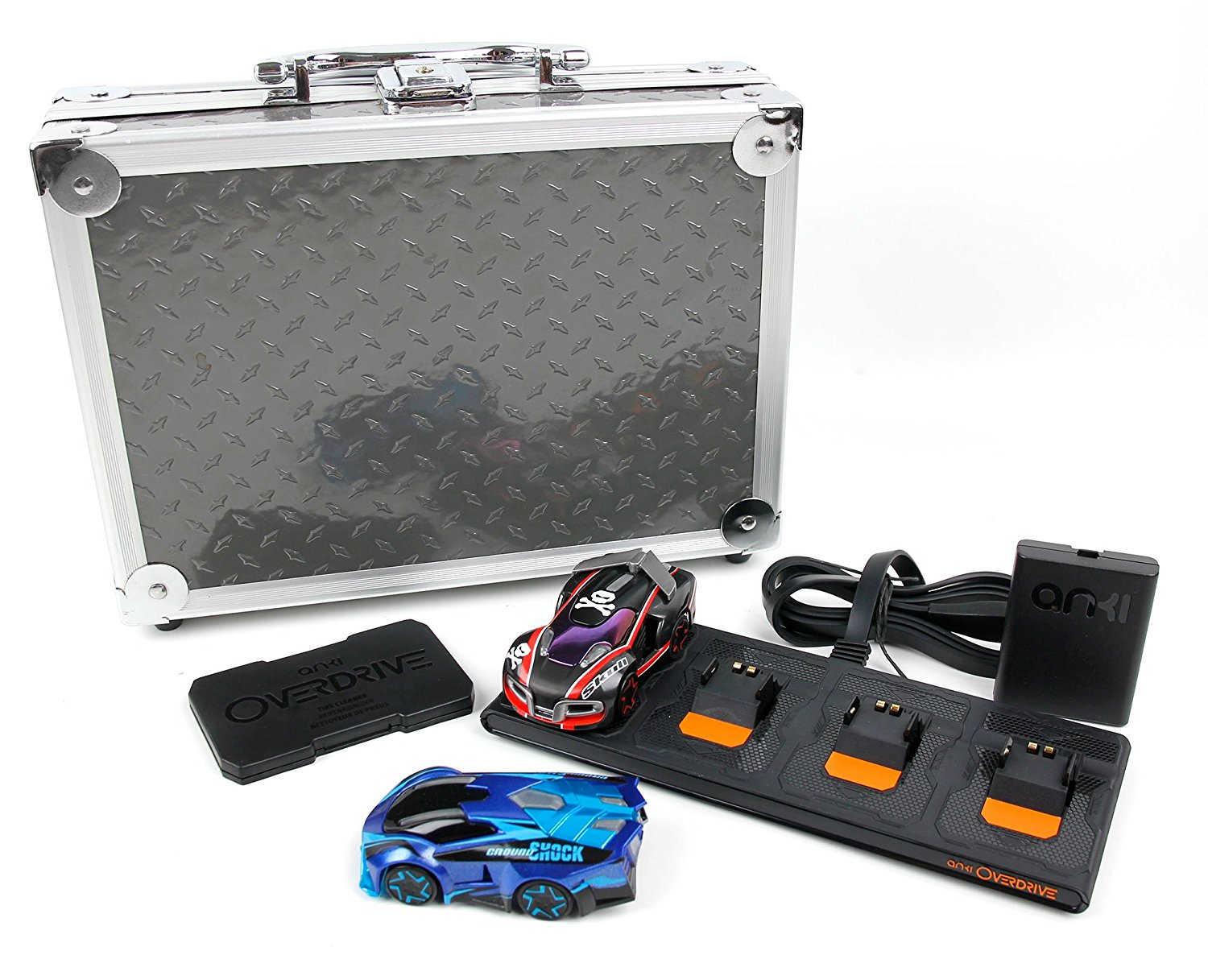DURAGADGET Aluminium EVA Case with Customizable D.I.Y Foam Interior - for The Anki Overdrive Cars & Expansion Car Toys