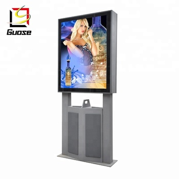 Double Sided Poster Frame Outdoor Sign Board Material Free Standing ...
