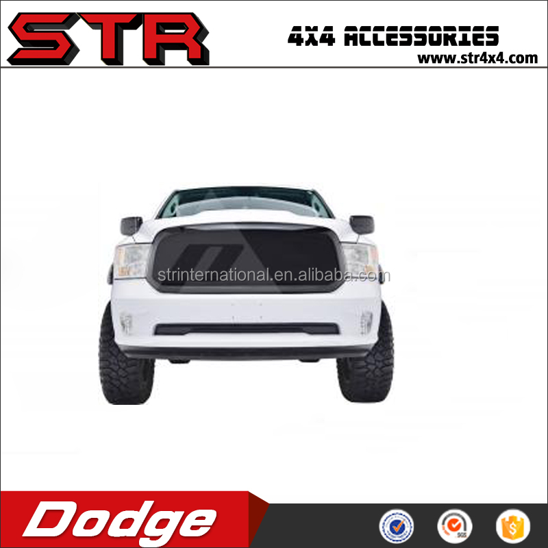 Auto Parts Dodge Ram Accessories,13-17 Dodge Ram 1500 ABS Black Stainless Steel Wire Mesh Packaged Grille