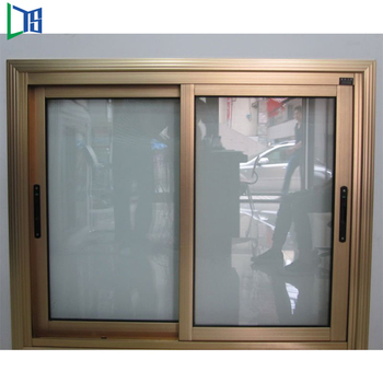 Aluminium Double Glazed Jindal Aluminium Sliding Window Sections