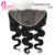 Pre Plucked Body Wave13x6 Transparent Lace Frontal Brazilian Remy Hair 100 Human Hair Extension On Sale
