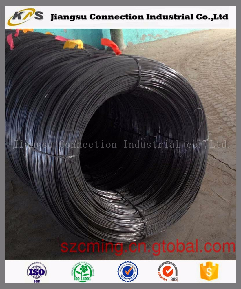 Low Price Hot Rolled Low Carbon Steel Wire Rod 5.5mm 6.5mm Sae 1006 ...
