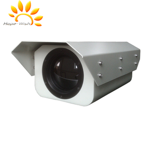 Hot Spot temperature detection thermal imaging IP camera with alarm function