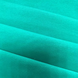 Nice design cheap solid dyed knit fabric cotton single jersey fabric price