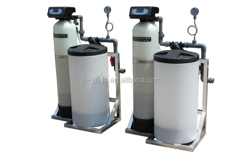 Ion Exchange Water Softener Remove Hardness Single Tank