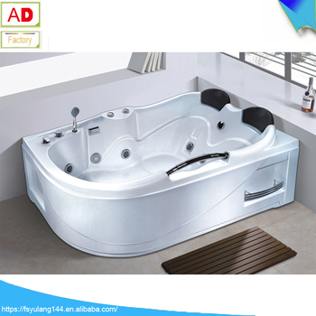 Ad 1737 Foshan Sanitary Ware Bathtub Heater Whirlpool 2 Person Skirt