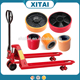 China Supplier hydraulic pump hand pallet truck 4 post car lift table wheel