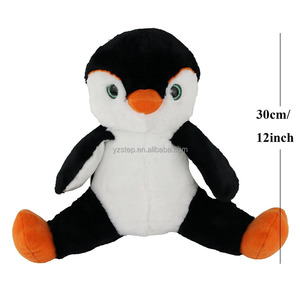 Cuddly Soft Black And White Plush Penguin Toy