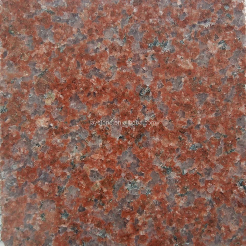 Beautiful Large Flower Indian Red Granite Slab Floor Tile Buy